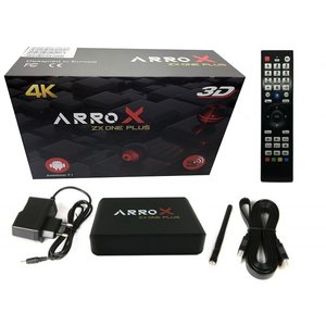 Arrox ZX One Plus IPTV Receiver 3D Android 7.1 Streaming Box