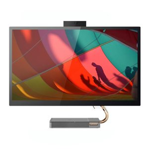 Lenovo Ideacentre A540 / 27'' QHD IPS / i5-9400T / 8 GB / 512 GB / AMD RX560X-4GB / (kein DVD) / Grau (17020054543)