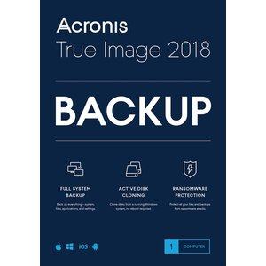 Acronis True Image 2018 - 1 User (PC)