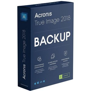 Acronis True Image 2018 - 3 User (PC)