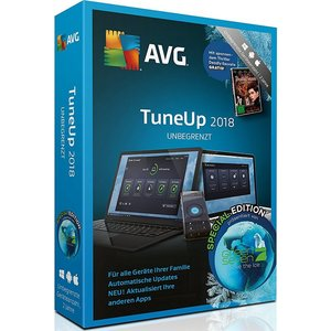 AVG TuneUp unbegrenzt 2018 - Special Edition (PC)