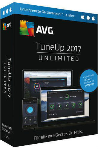 avg tuneup unlimited 2017 pc tests infos. Black Bedroom Furniture Sets. Home Design Ideas