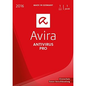 Avira AntiVirus Pro 2016, 1 User (PC)
