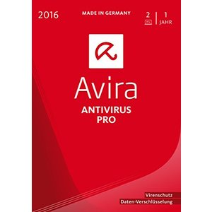 Avira AntiVirus Pro 2016, 2 User (PC)