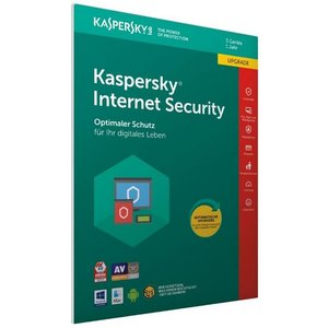 Kaspersky Internet Security 2018 Update - 3 Geräte, 1 Jahr (PKC, FFP) (PC, Mac)