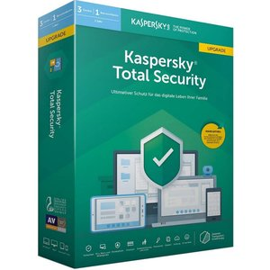 Kaspersky Total Security 2019 Update PKC (3 User, 1 Jahr) (PC, MAC, Mobile)