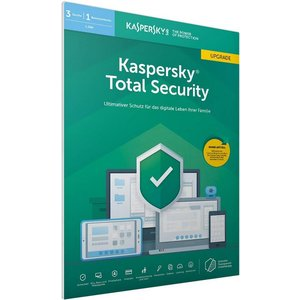 Kaspersky Total Security 2019 Update PKC FFP (3 User, 1 Jahr) (PC, MAC, Mobile)