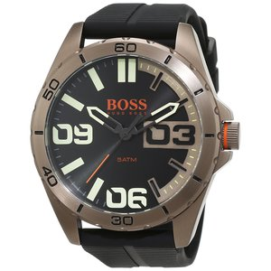 BOSS Orange Herren-Armbanduhr BERLIN Analog Quarz Silikon 1513287