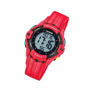 Calypso Kinderuhr Color Run rot K5740/3