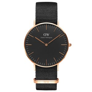Daniel Wellington Classic Black Cornwall (DW00100150)