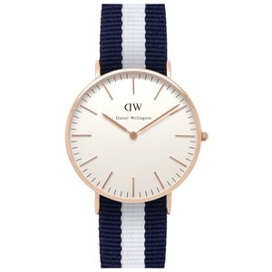 Daniel Wellington DW00100031 Glasgow Rose Gold Damenuhr