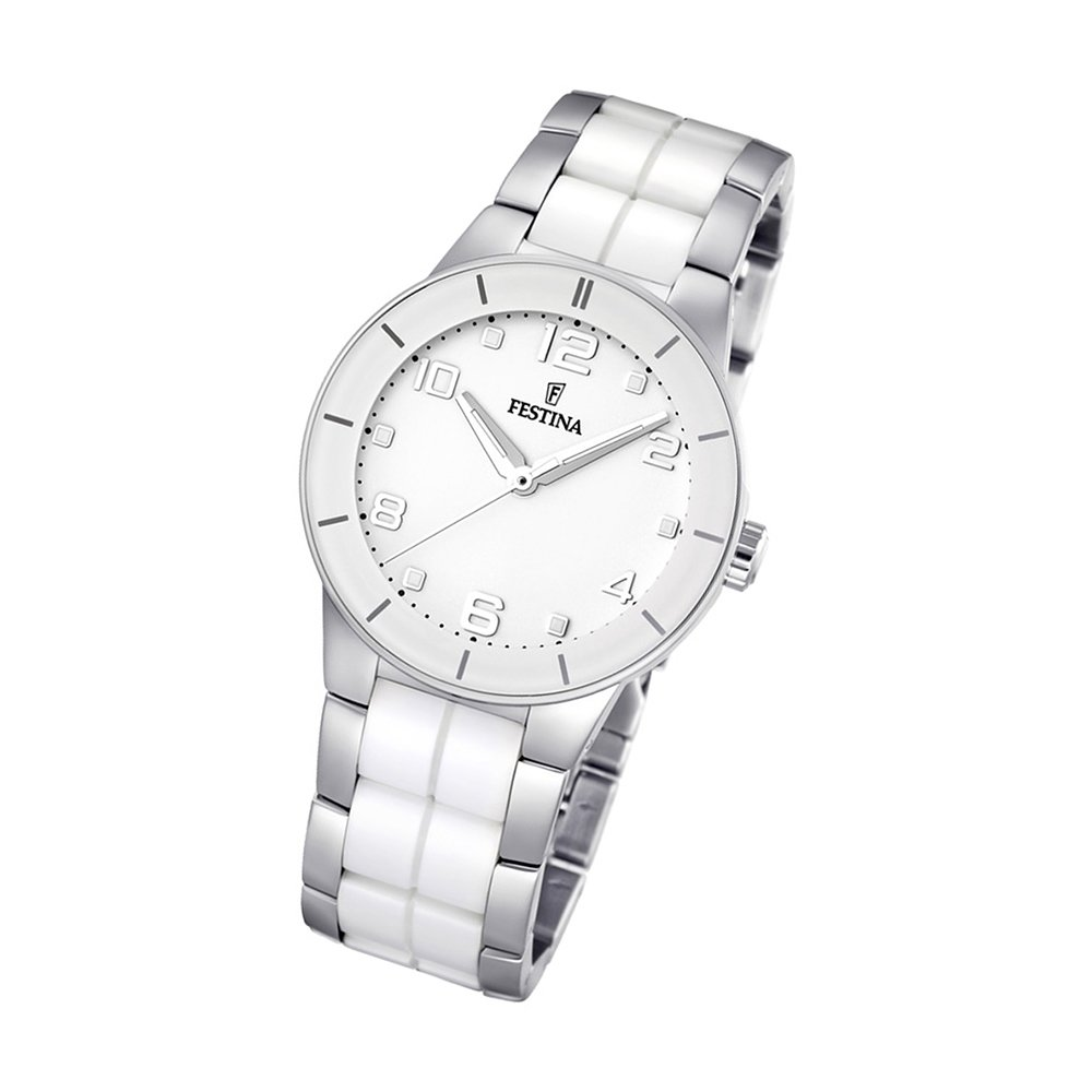 Festina Damenuhr Weiss Ceramic Uhren Trend Kollektion Uf165311 Tests