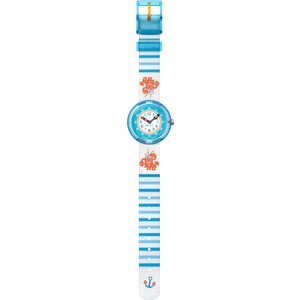 Flik Flak LOBSTER STRIPE FBNP089 Kinderuhr