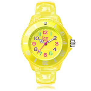 Ice-Watch ICE happy Neon yellow Gelbe Jungenuhr mit Plastikarmband 001322 Extra Small