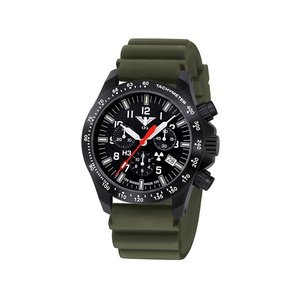 KHS Uhren Herrenuhr Black Platoon Chronograph KHS.BPCLDR.DO