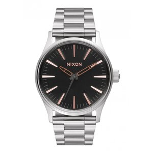 Nixon The Sentry 38 SS Gray Rose Gold (A4502064)