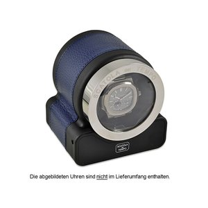 Scatola del Tempo Uhrenbeweger Rotor One HdG Blue Navy d
