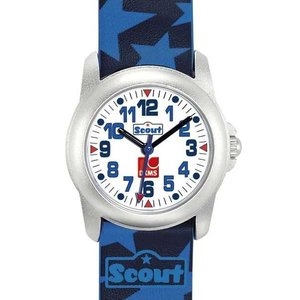 Scout DKMS Special Edition Jungenuhr 307001 - PU-Armband - 28 mm