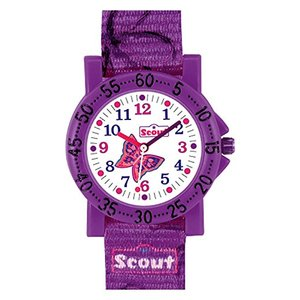 Scout Kinder Lernuhr IT-Collection - Butterfly Mädchen 280375011