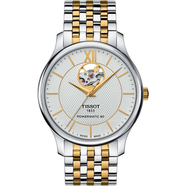 Tissot TISSOT TRADITION AUTOMATIC OPEN HEART T063.907.22.038.00