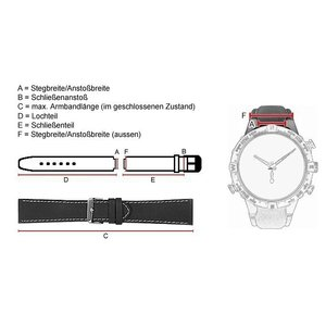 Uhrenarmband Swatch Touch White Silikon Band für SURW100 - 24137