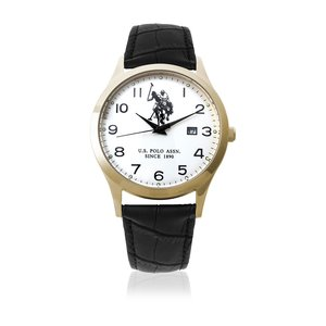 US Polo Association   -Armbanduhr  Analog    USP4374YG_YG