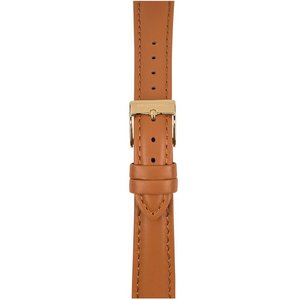 Watchpeople SWP16L-012 16mm Lederband Stitch Cognac