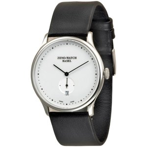 Zeno-Watch Herrenuhr - Flat Bauhaus Quartz - 6493Q-i2