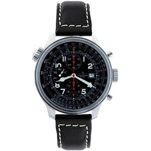 Zeno-Watch Herrenuhr - OS Slide Rules Slide Rule Chronograph Date - 8557CALTVD-a1