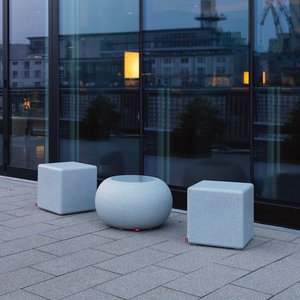 Moree Granite Cube Outdoor - Sitzwürfel