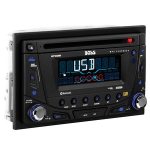 BOSS AUDIO 870DBI Autoradio (abnehmbare Vorderseite, Double DIN, MP3, CD, AM/FM Receiver)