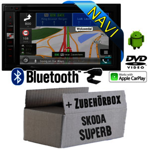 Pioneer AVIC F980BT Skoda Superb 1