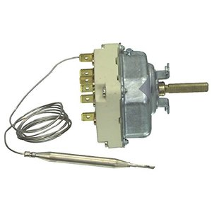 E.G.O. Fixapart W4–41330Brass, Silver Thermostat–Thermostats (Brass, Silver, 50–300°C)
