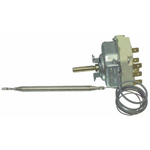 E.G.O. Fixapart W4 – 41331 Silber Thermostat – Thermostat (Silber, 140 – 300 °C)