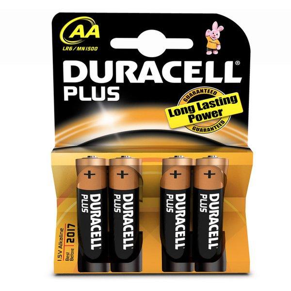 duracell aa plus tests infos 2018. Black Bedroom Furniture Sets. Home Design Ideas