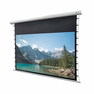 DELUXX Cinema Motorleinwand Tension 332 x 186cm, 150 - DARKVISION