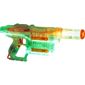 Hasbro - Nerf N-Strike Modulus Ghost Ops Shadow ICS-6Hasbro - Nerf Gun, transparent/orange