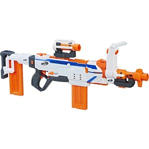 Hasbro - NERF - N-Strike Modulus Regulator, weiß/orange