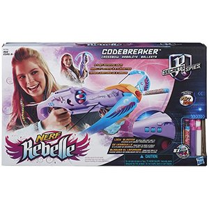 Hasbro - NERF - Rebelle Codebreaker Crossbow