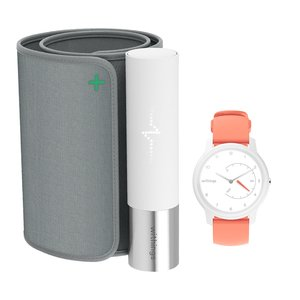 Withings Wireless BPM Core + Move White & Coral