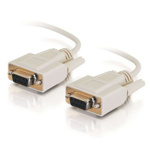 C2G/Cables to Go 03045DB9F/F Serial RS232null Modem KabelBeige (10Feet)