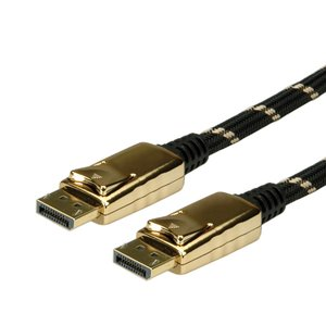 ROLINE GOLD Displayport Kabel I DP Monitorkabel