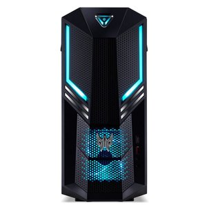 Acer Predator Orion 3000 (PO3-600) Gaming Desktop PC (Intel Core i5-9400, 16 GB RAM, 512 GB PCIe SSD, NVIDIA GeForce RTX 2060, Win 10 Home) schwarz