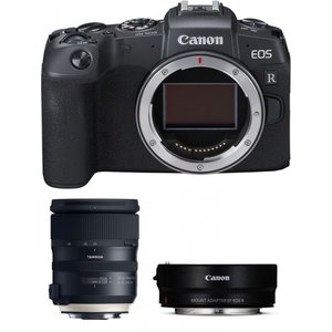 Canon EOS RP Kit schwarz inkl. EF-EOS R-Adapter + Tamron SP 24-70mm f2,8 Di VC USD G2
