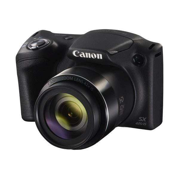 Canon PowerShot SX420 is schwarz