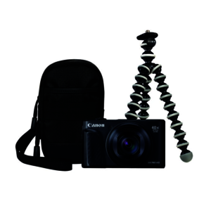 Canon PowerShot SX740 HS Travel-Kit schwarz