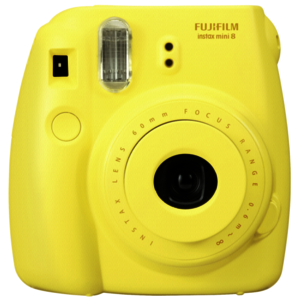 Fujifilm Instax Mini 8 softgelb