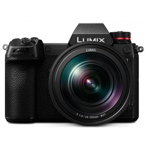 Panasonic Lumix DC-S1 Kit schwarz inkl. LUMIX S 24-105mm MAKRO OIS