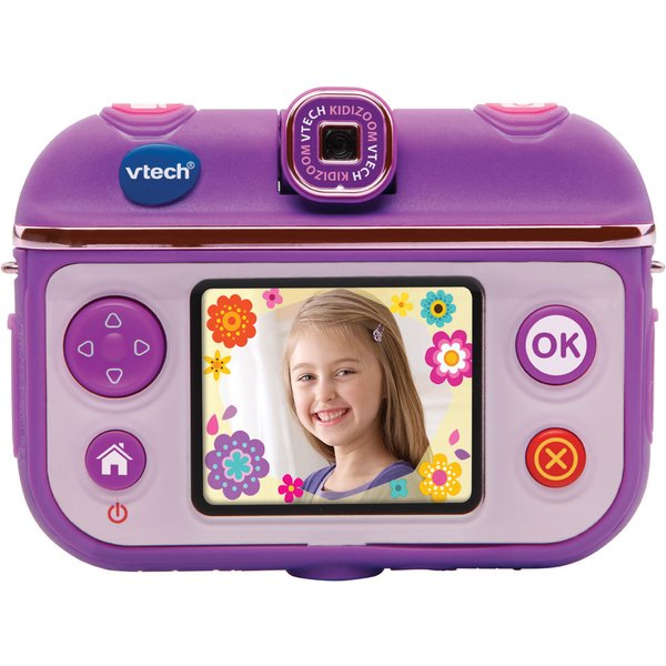 vtech kidizoom selfie cam lila tests infos 2018. Black Bedroom Furniture Sets. Home Design Ideas