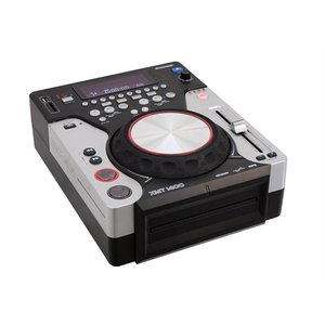 OMNITRONIC XMT-1400 Tabletop-CD-Player DJ-Workstation für CD, USB und SD